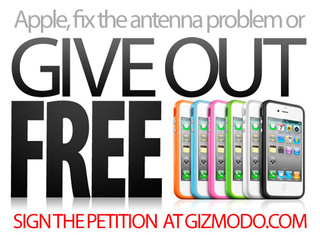 Sign Here If You Think Apple Should Give Free Cases to Fix the iPhone 4's Problems