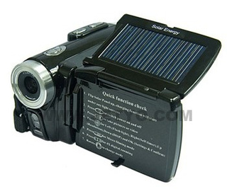Jetyo HDV-T900 Camcorder Requires Four Day's Worth of Sunshine to Recharge