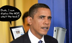 Obama: iPods, iPads, Xboxes and PlayStations Turn Information Into Distraction