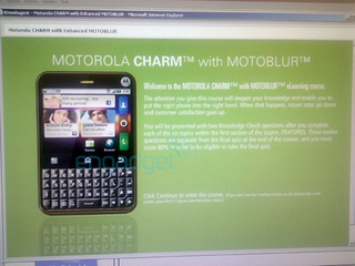 T-Mobile Motorola Charm Is an Android Phone With a Blackberry-Styled Keyboard