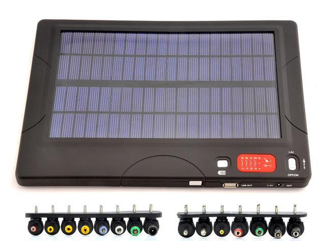 Solar-Powered Battery Gives You 29 Ways To Charge, Choose One