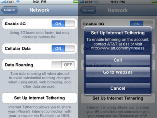 Newest iPhone 4.0 Beta Implies That AT&T Is Finally Ready For Tethering