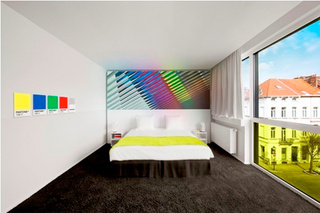 Pantone Hotel Opens In Brussels, Limited To Just Seven Color Palettes