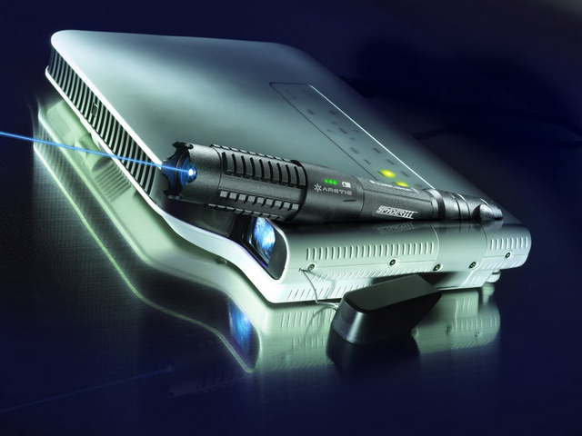 The Spyder III, the World's Most Powerful Portable Laser, Is a Real Life Lightsaber