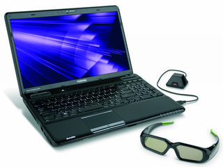 Toshiba A665 Laptop Plays 3D Blu-ray and Games