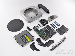 Apple's New Unibody Mac Mini Gets Torn Apart