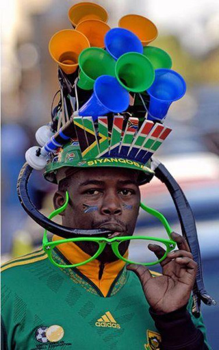 Vuvuzela Hat Is the Paragon of World Cup Fan Tech
