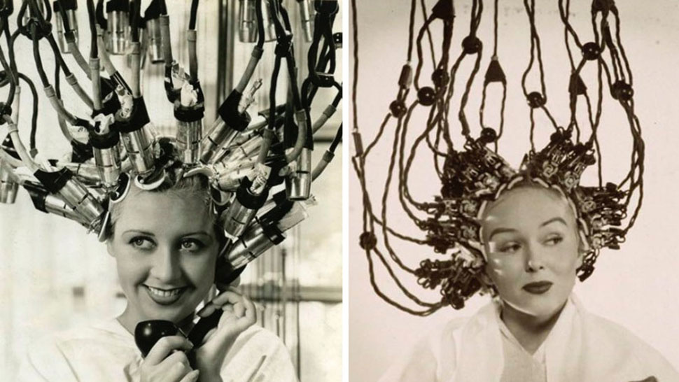 Alien Mind Control Women http://gizmodo.com/hair-dryers-used-to-look-like-alien-mind-control-helmet-493114804
