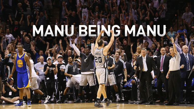 Manu Ginobili's Stumbling Heroics, In His Own Words