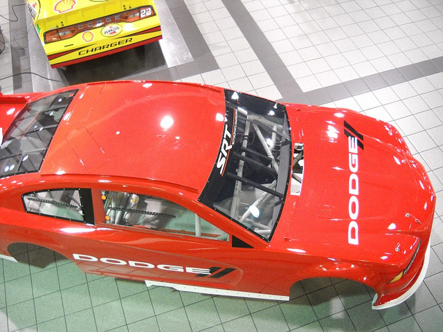 2013 Dodge Charger NASCAR: First Live Photos