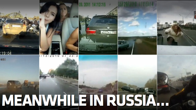 Watch The Ten Best Russian Dashcam Videos