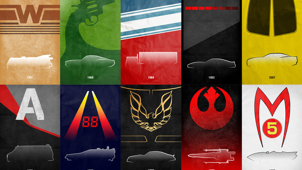 These Gorgeous, Cheap Movie Car Posters Are A 'Must Buy' For Any Car Guy