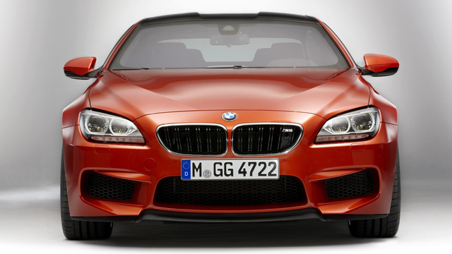 2012 BMW M6 Coupe: Press Photos