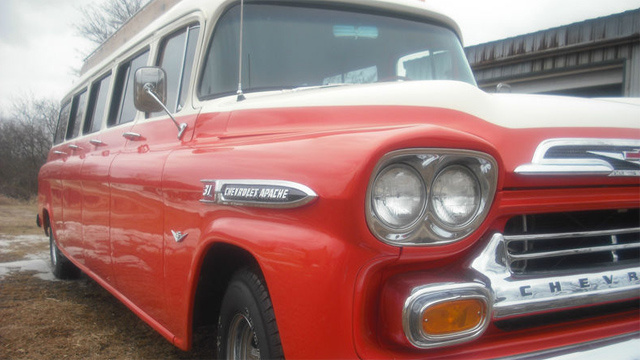 1959 Chevy Suburban Limo Is One Odd Way To Arrive In Style