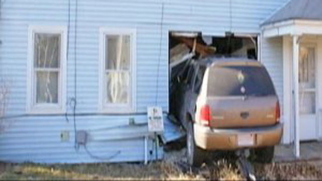 Car Crashes Through Man's Home For The Fifth Time