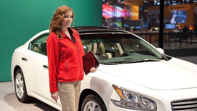 The Booth Professionals Of The Chicago Auto Show