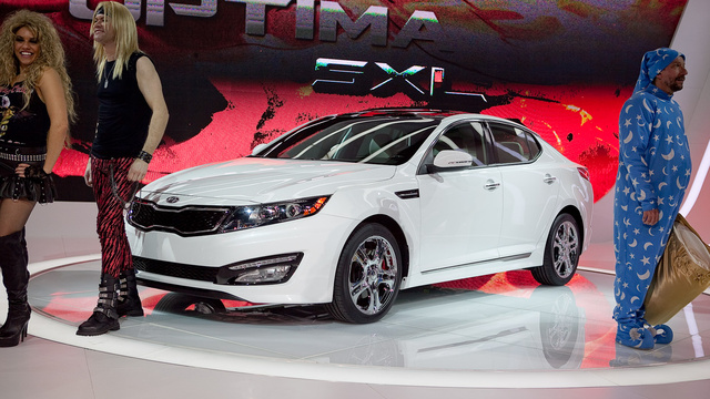 Kia Optima SX Limited: First Photos