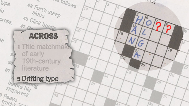 Is The New York Times Crossword Puzzle Trolling Car Enthusiasts?