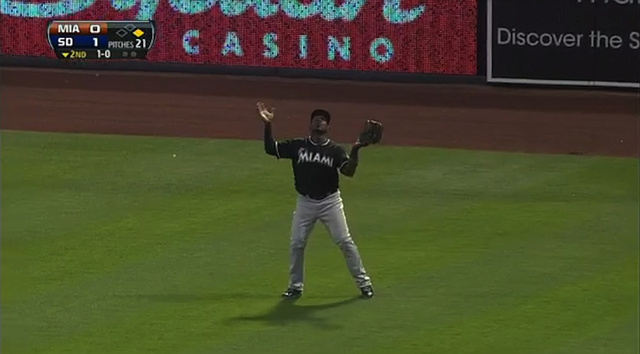 Marlins Outfielder Hilariously Loses Track Of Routine Home Run …