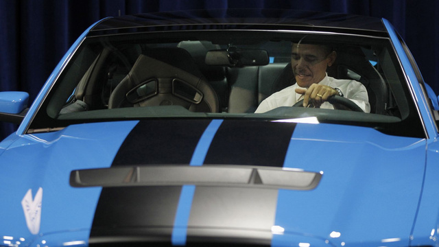 Barack Obama Car Show: Live Photos