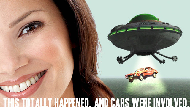 Fran Drescher Says She Was Abducted By Aliens While Driving