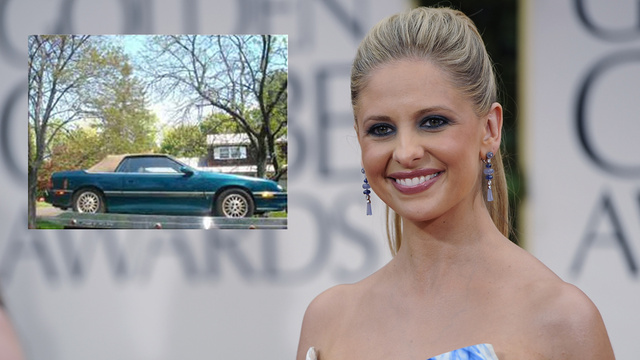 Want To Buy Sarah Michelle Gellar's Chrysler LeBaron?