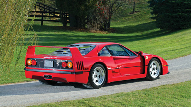 283 Mile Ferrari F40 sells for $710,000