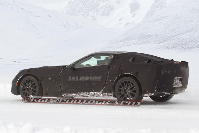 2014 Chevrolet Corvette: First Spy Photos