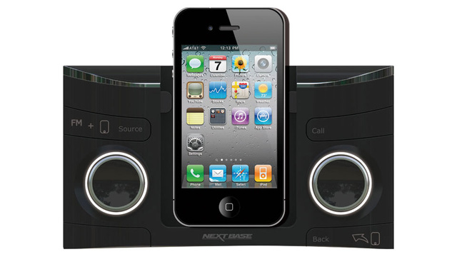 A Mechanically Precarious iPhone Dock Was My Favorite Head Unit at CES