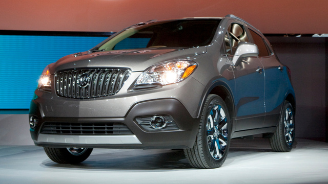 Buick Encore Will Terrify Old Folks With Smallness