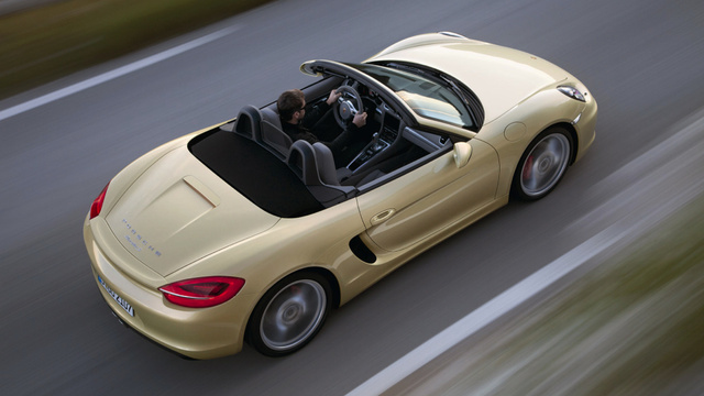 The 2013 Porsche Boxster Is Longer, Wider, Lighter, Better
