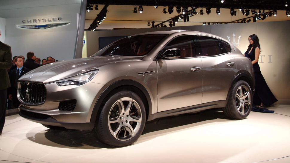 Maserati Kubang Concept: Powered By Ferrari, Built By Chrysler