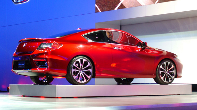 2013 Honda Accord Coupe: 2012 Detroit Auto Show Live Photos