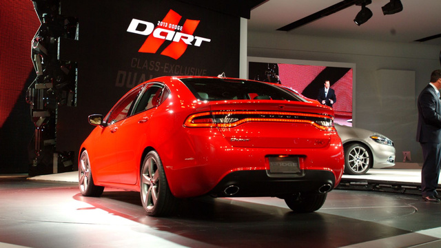2013 Dodge Dart: Detroit Auto Show Live Photos