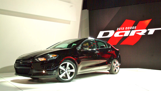 2013 Dodge Dart: 2012 Detroit Auto Show Photos, Info