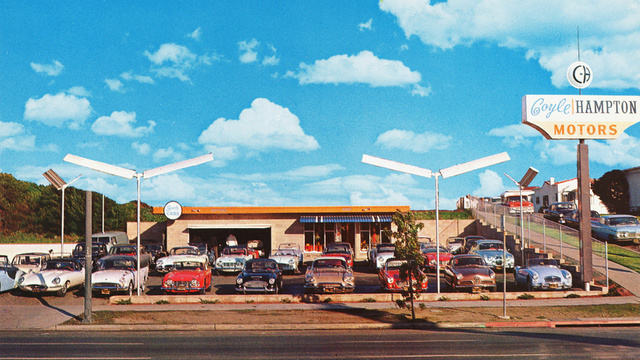 Proof used sports car dealerships were an amazing place to be in the early 1960s