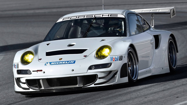 This is the new Porsche 911 GT3 RSR for 2012