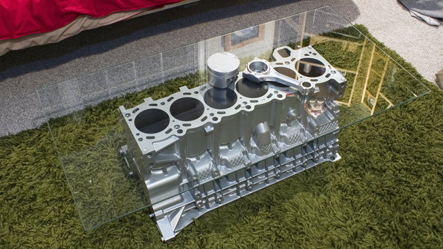 What's the best engine for a coffee table?