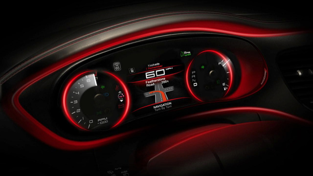 2013 Dodge Dart: Interior Photos