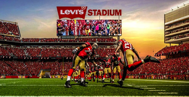 The 49ers' New Home Will Be Named Levi's Stadium