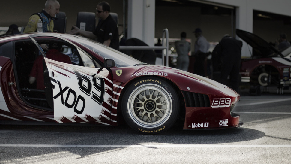 Ferrari's new 458 Grand-Am race car is gorgeous