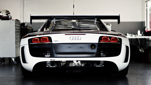 Here's the first Audi R8 in a U.S. racing series