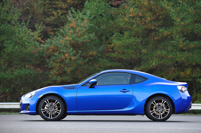 Subaru BRZ: Live Photos