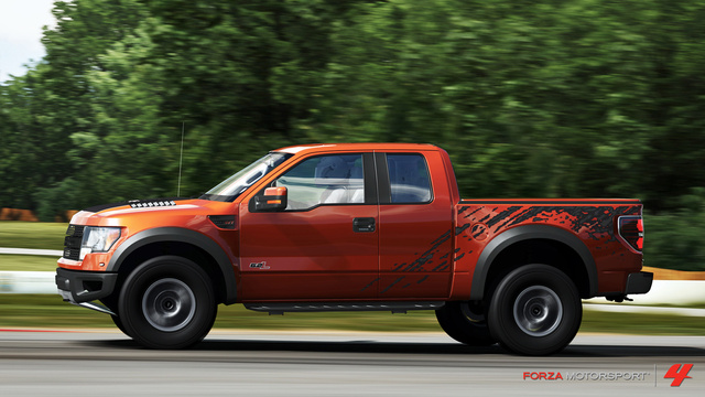 Forza 4 December DLC includes SVT Raptor