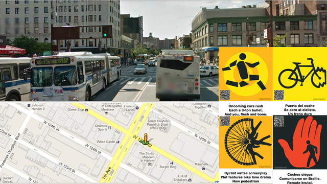 Where to find New York City's haiku crosswalk signs