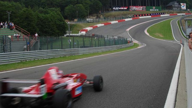 How to take Eau Rouge flat out
