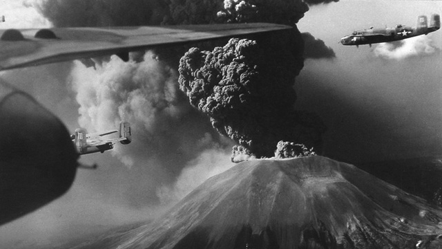 Mount Vesuvius caused more Allied bomber losses than a Nazi air raid