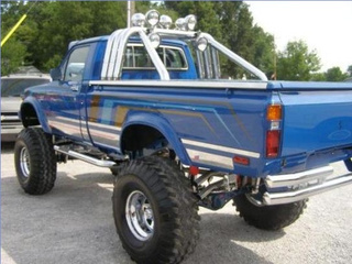 For $15,995, this truck is blue and blown