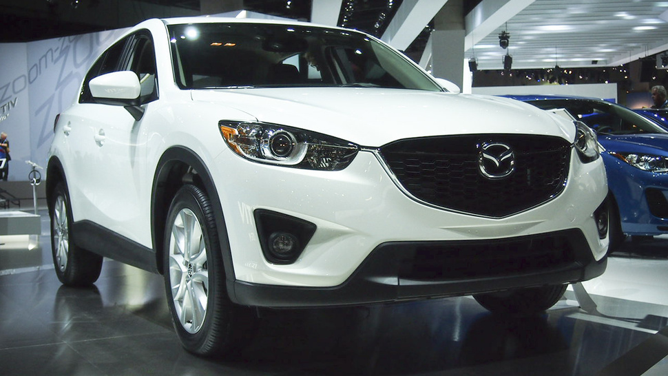 2013 Mazda CX-5: Not completely terrible for a crossover