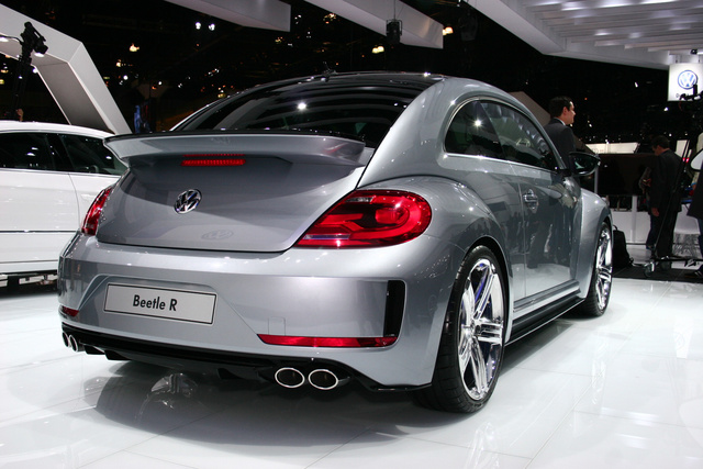 Volkswagen Beetle R: Live Photos